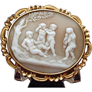 Cameo of Psyche and Eros