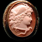 Large cameo of Medusa