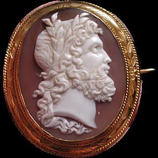 Fabulous cameo of Zeus