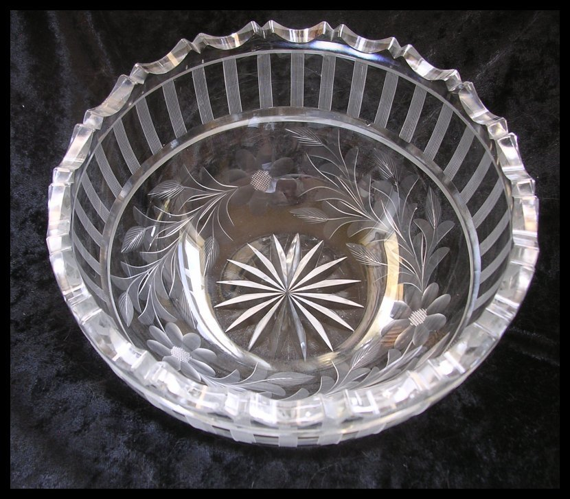Full Lead Crystal Bowl