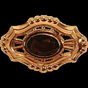 Victorian Era Pin - Purple Stone