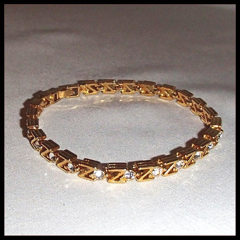 Classic 1980s Tennis Bracelet