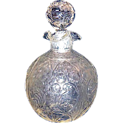 Wonderful Antique Engraved Scent Bottle by Stevens & Williams, Stoubridge.