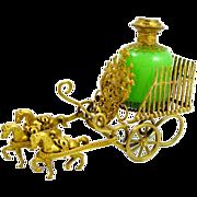 Grandest Antique Palais Royal French Opaline Glass Perfume Set