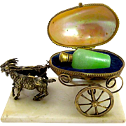 Antique French Mother of Pearl Perfume Set