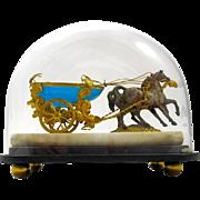Antique Palais Royal Opaline Cart
