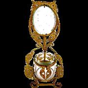 Antique Palais Royal Dressing Table Set