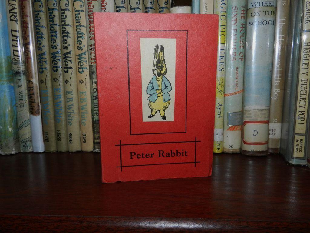 Rare Beatrix Potter Piracy  Peter Rabbit - 1918-1921