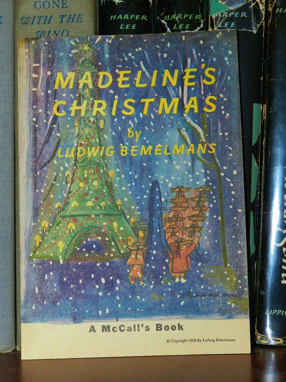 Madeline's Christmas 1956 Scarce 1st printing!  Bemelmans