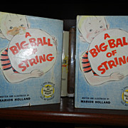 Big Ball of String 1st printing in dust jacket 1958 Rare