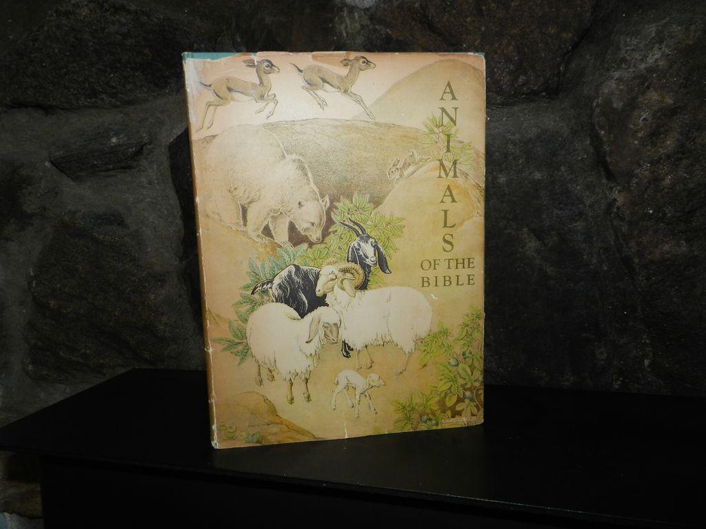 Animals Of the Bible 1937 Lathrop - First Caldecott Award ! Scarce !