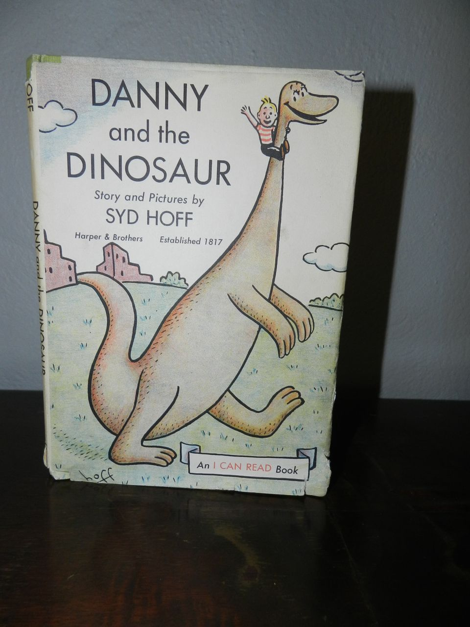 Syd Hoff's Danny and the Dinosaur  1958 1st Printing - In original DJ