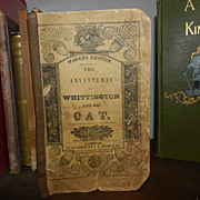 1830's Whittington and his cat Hand colored Chapbook