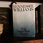 Signed Moise and the World of Reason Tennessee Williams 1st/1st