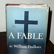 A Fable by William Faulkner. First edition / printing  in dust jacket.