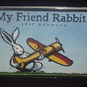 My Friend Rabbit 1st printing SIGNED Caldecott award 2003