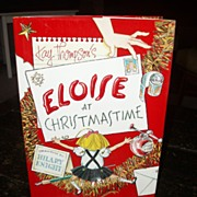 Eloise at Christmastime SIGNED by Hilary Knight beauty in DJ!