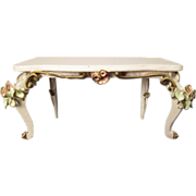 """Szalasi Spielwaren Rococo Style Doll Furniture - Console Table - 1"""" Scale - Germany"""