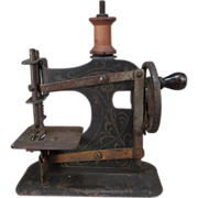 Miniature Toy Sewing Machine - Small Size