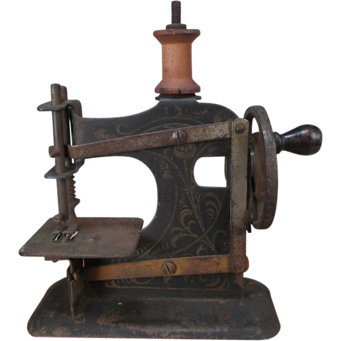Miniature Toy Sewing Machine - Small Size