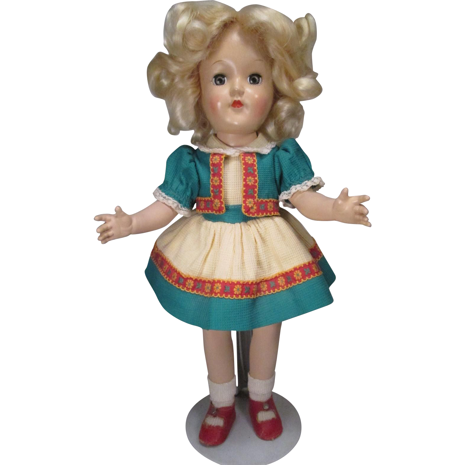 P-90 P90 Ideal Hard Plastic Toni Doll in Original Outfit - 1949-1953