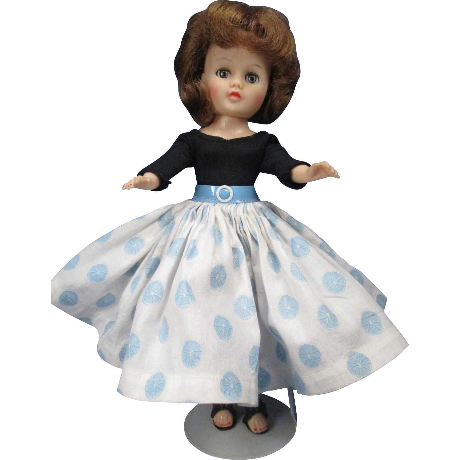 "Miss Nancy Ann - 10"" Teen Fashion Doll - 1958-59 - NASB"