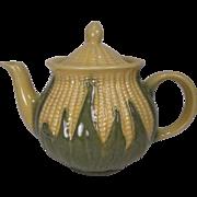 Shawnee Pottery Large Tea Pot #75 - Corn King Pattern
