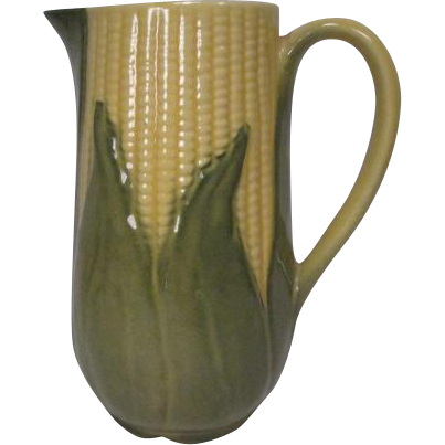 Shawnee Pottery Tall Pitcher #75 - Corn King