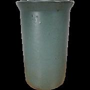 Large Zanesville Stoneware Cylindrical Vase - #202 - 1920's