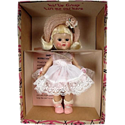 SOLD - Vogue Ginny Doll - Whiz Kids #74 - PLW from 1954 in Correct Box - Mint Condition!