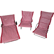 Watko Doll Furniture - 3 Piece Beach Set from 1957 - Cissette