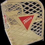 Vintage Tom's Counter Display Shelf