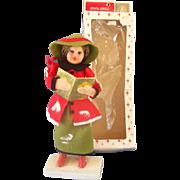 Shiny Brite Christmas Caroler in Box
