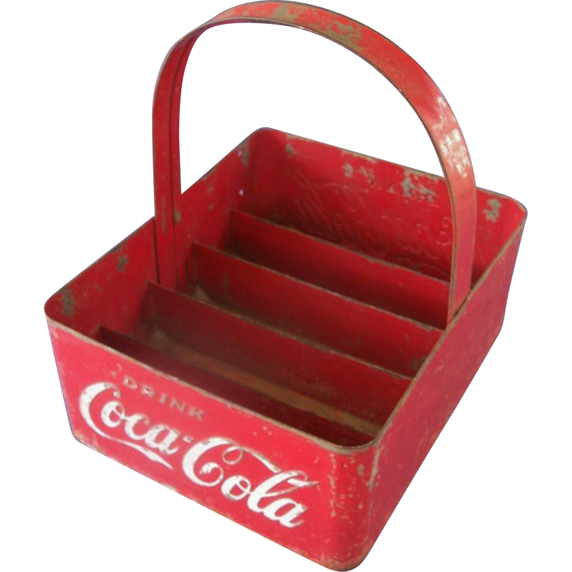 Metal Coca Cola Stadium Bottle Carrier