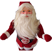 Dr. Pepper Santa Doll Display