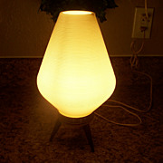 Vintage Atomic Tripod Lamp