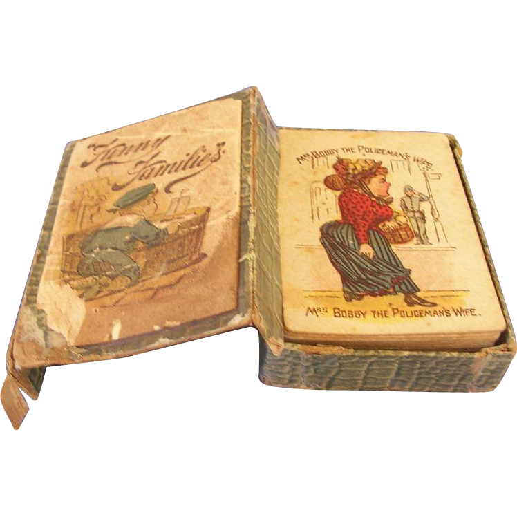 Victorian Playing Cards - Complete in Box