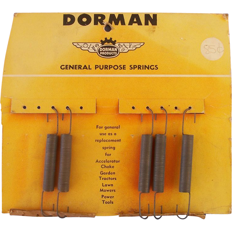 Dorman General Purpose Springs - Original Card