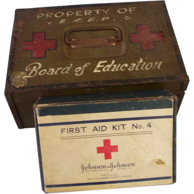 1939 Board of Education First Aid Kit