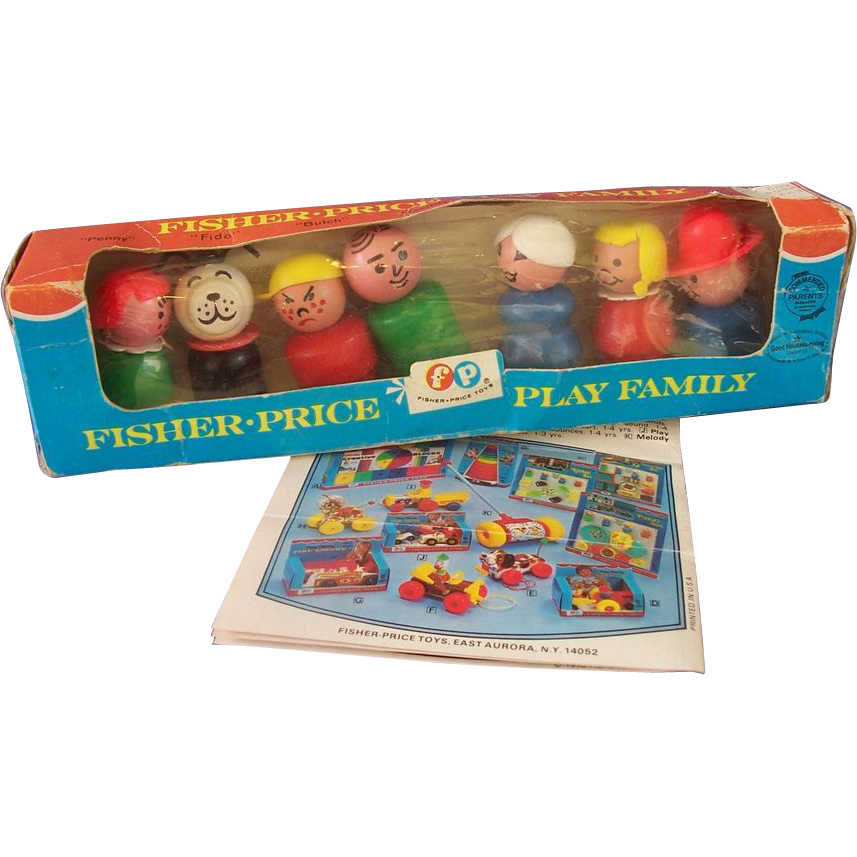 Fisher Price Play Family in Original Box