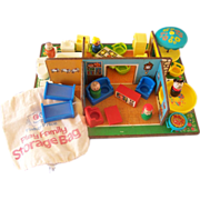 Fisher Price Play Family Rooms - Complete