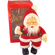 Coca Cola Plush Santa Doll in Original Box