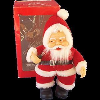 Coca Cola Plush Santa Doll in Original Box