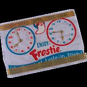 Frostie Root Beer Open Close Sign -  NOS