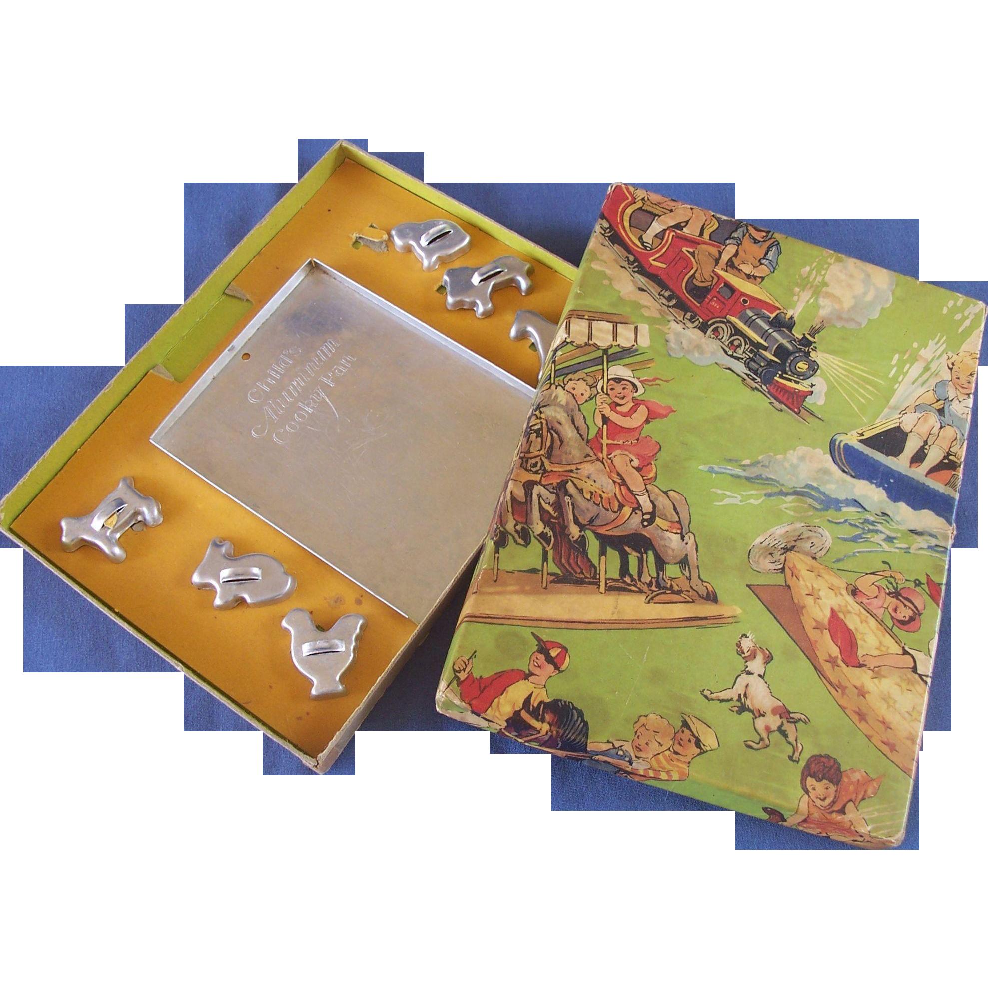 Child's Cookie Cutter Set in the Original Box