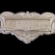 1955 Mail Slot Door Plate