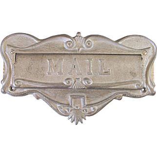 1955 Mail Slot Door Plate