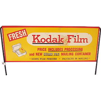 Kodak Bin or Rack Sign