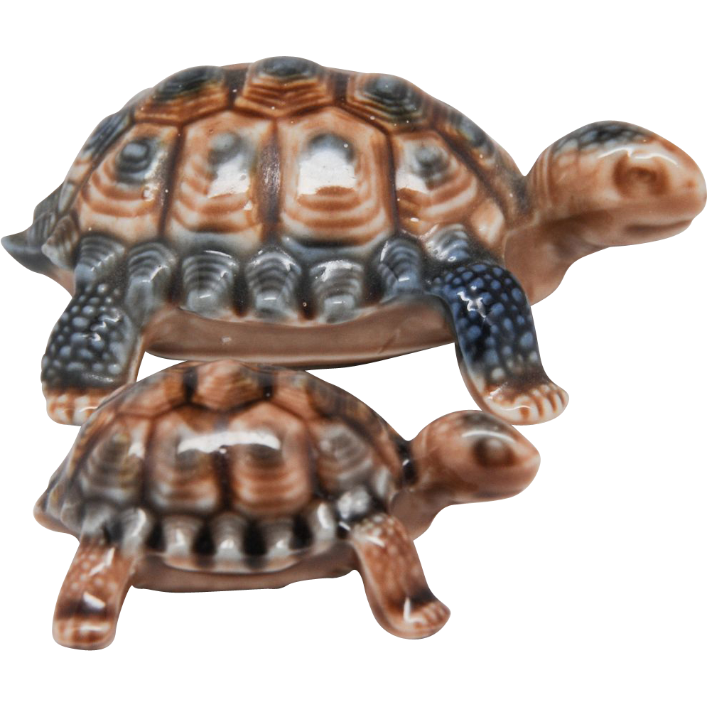 Wade Tortoise or Turtle Set - Mother and Baby