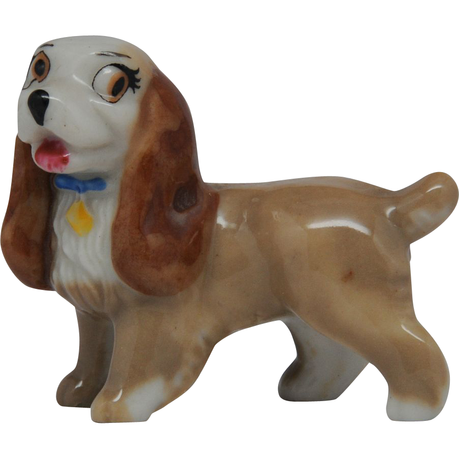 Wade Lady Dog from Walt Disney Lady and the Tramp